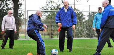 Seniorenvoetbal vanaf 55 jaar van start