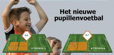 Nieuwe opzet pupillenvoetbal