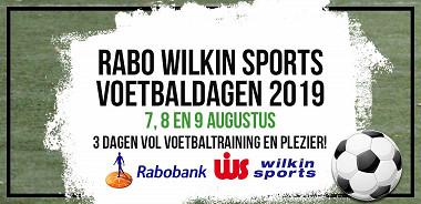 RABO Wilkin Sports voetbaldagen 2019