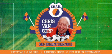 "Zaterdag 8 juni ""Chris van Gorp"" Seniorentoernooi"