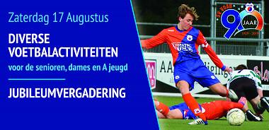 Zaterdag 17 augustus: voetbalactiviteitenmiddag