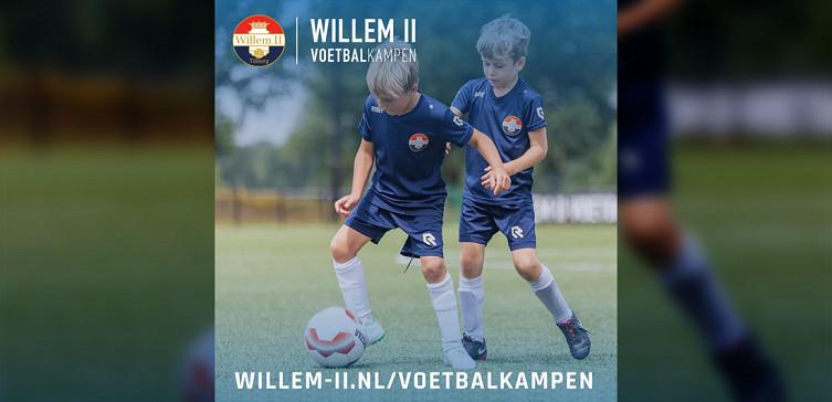 Willem II komt in de herfstvakantie naar V.O.A.B.
