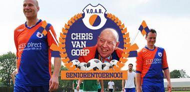 Zaterdag 6 juni Chris van Gorp Seniorentoernooi