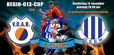 EL Classico Regio 013-CUP eindigt in 1 - 1