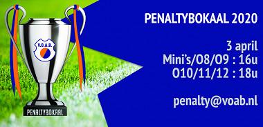 VOAB Penaltybokaal afgelast!