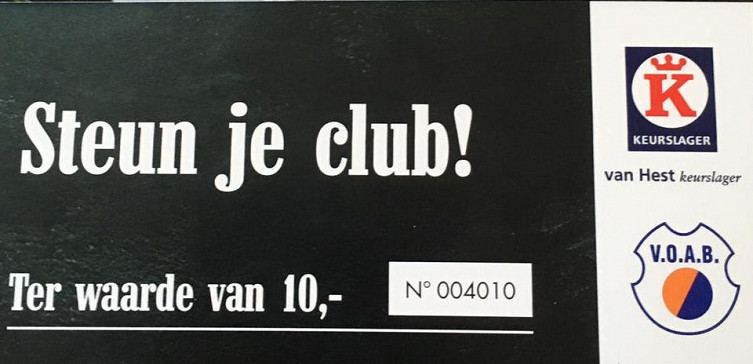 Actie Steun je club!