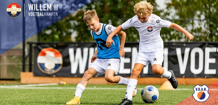 Willem II Voetbal-, en Keeperskamp bij V.O.A.B.