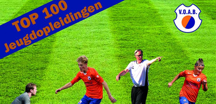 VOAB in TOP 100 jeugdopleidingen van Nederland