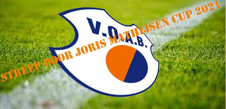 Streep door Joris Mathijsen Cup 2021