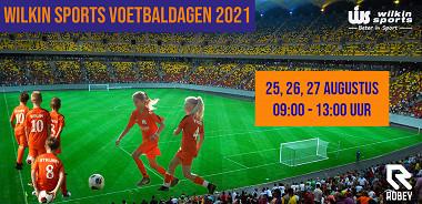 Schrijf in voor de Wilkin Sports voetbaldagen 2021