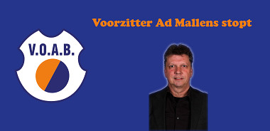 Voorzitter Ad Mallens stopt