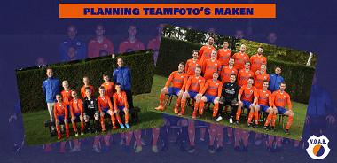 Planning teamfoto's maken