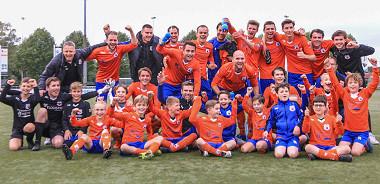 VOAB 1 wint met 2 - 0 van Rijen 1